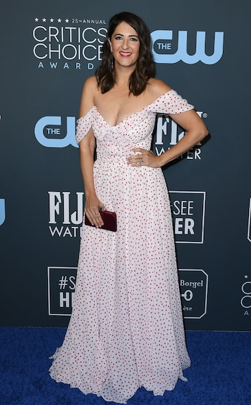 Critics' Choice Awards 2020 Red Carpet Fashion DArcy Carden, 2020 Critics Choice Awards, Red Carpet Fashion