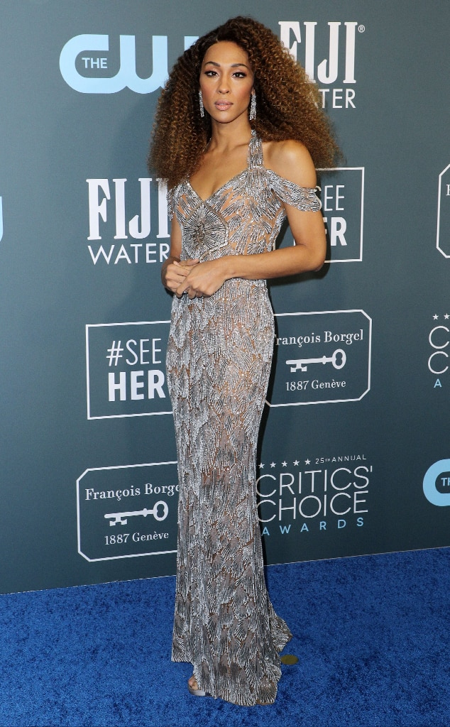 MJ Rodriguez, 2020 Critics Choice Awards, Red Carpet Fashion