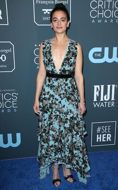 Jenny Slate, 2020 Critics Choice Awards, Red Carpet Fashion