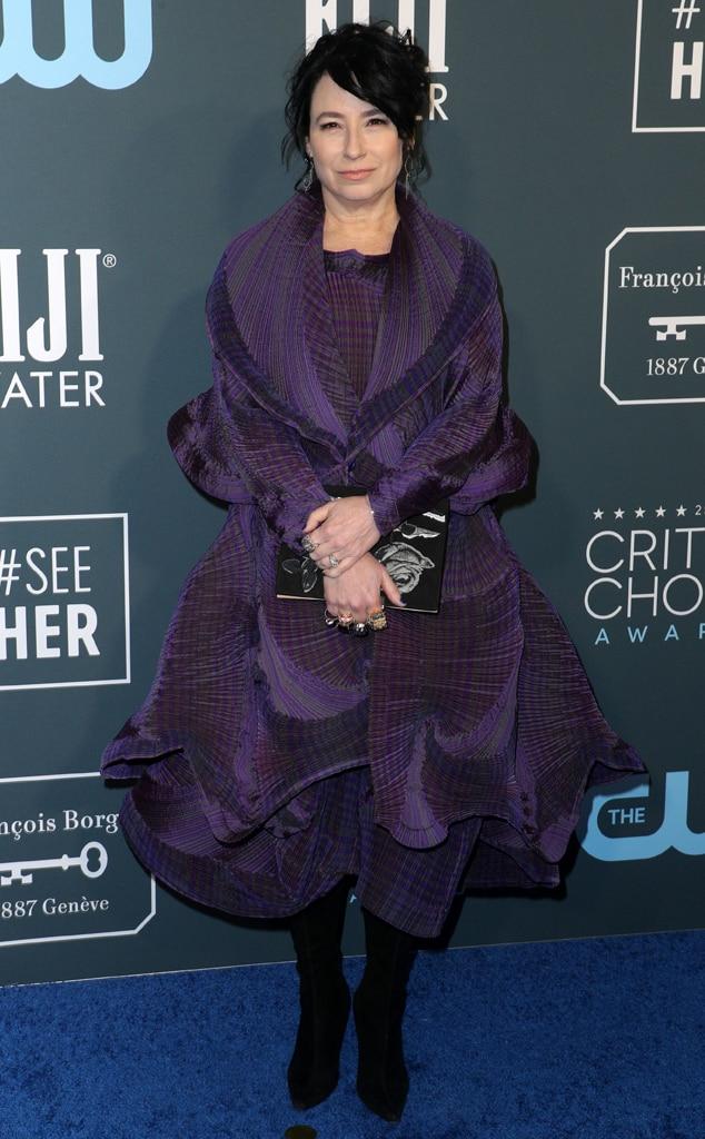 Amy Sherman-Palladino, 2020 Critics Choice Awards, Red Carpet Fashion