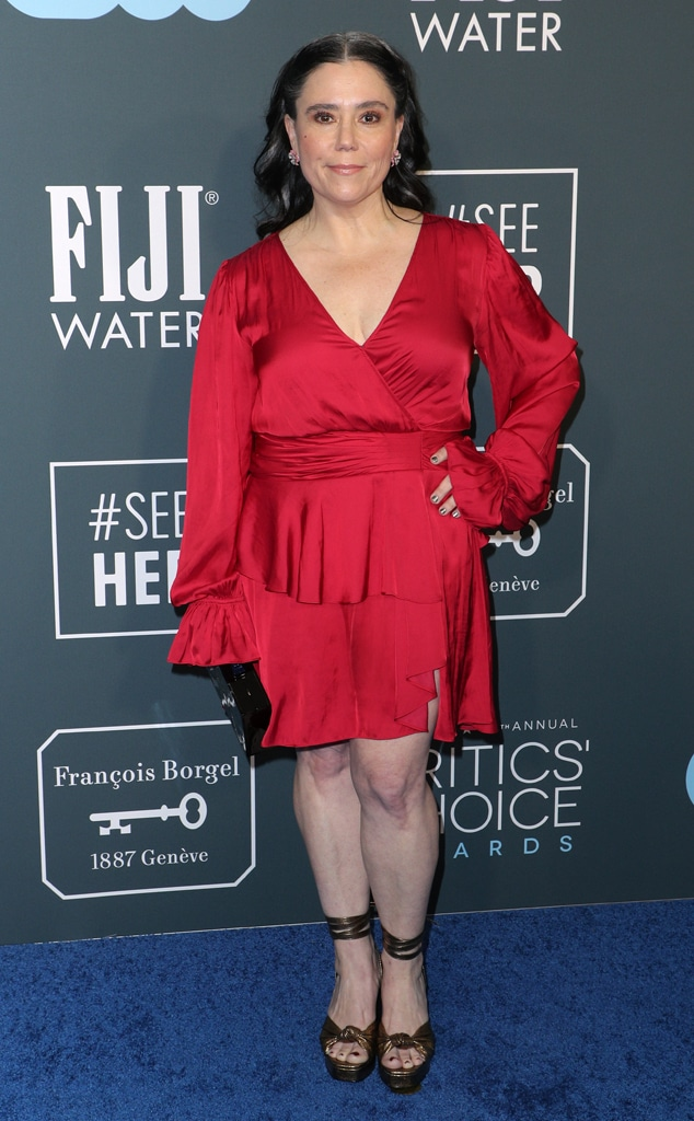 Alex Borstein, 2020 Critics Choice Awards, Red Carpet Fashion