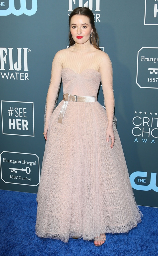 Kaitlyn Dever, 2020 Critics Choice Awards, Red Carpet Fashion