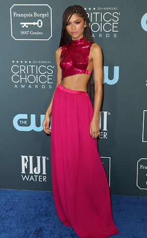 Zendaya, 2020 Critics Choice Awards, Red Carpet Fashion