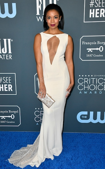 Critics' Choice Awards 2020 Red Carpet Fashion Susan Kelechi Watson, 2020 Critics Choice Awards, Red Carpet Fashion