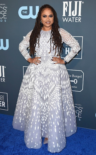 Critics' Choice Awards 2020 Red Carpet Fashion Ava DuVernay, 2020 Critics Choice Awards, Red Carpet Fashion