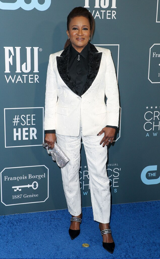 Wanda Sykes, 2020 Critics Choice Awards, Red Carpet Fashion