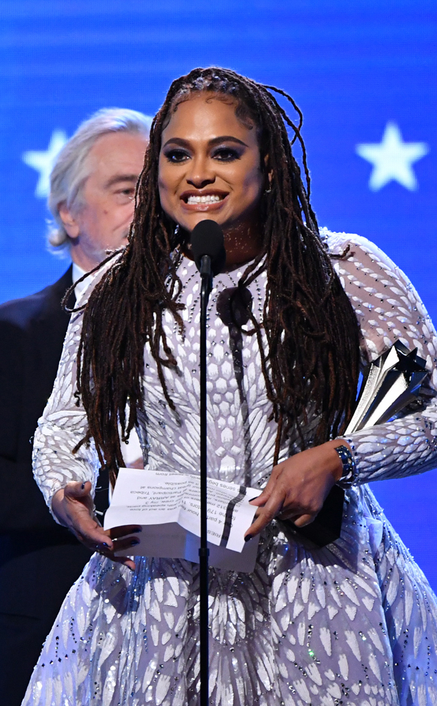 Ava DuVernay, 2020 Critics Choice Awards, Show