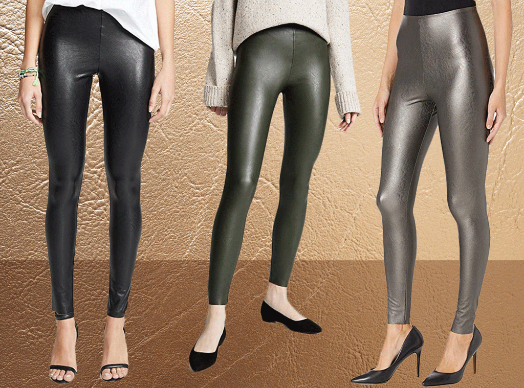 E-Comm: Faux Leather Leggings