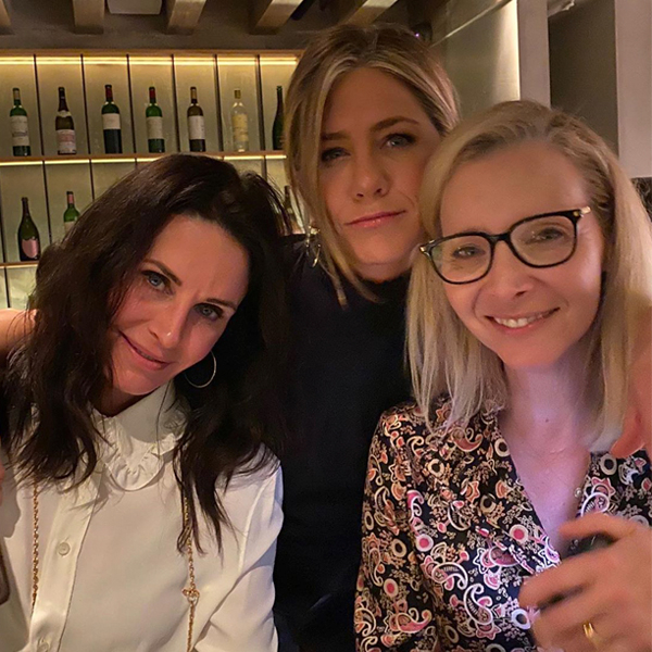 Jennifer Aniston, Courteney Cox and Lisa Kudrow's Night Out Couldn't Be Any More Perfect