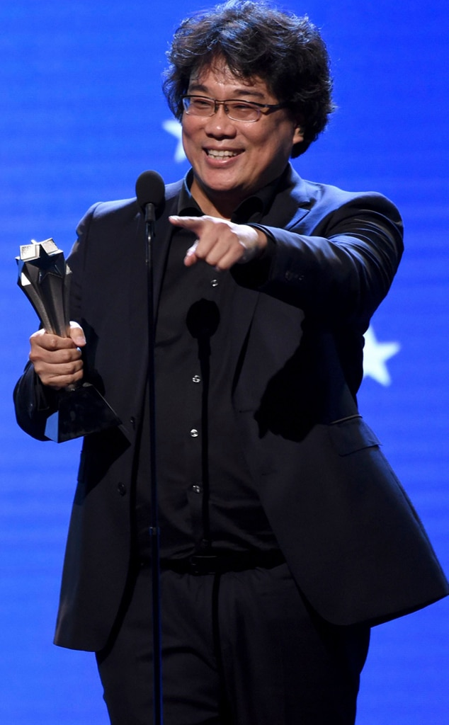Bong Joon Ho, Bong Joon-Ho, 2020 Critics Choice Awards, Winners