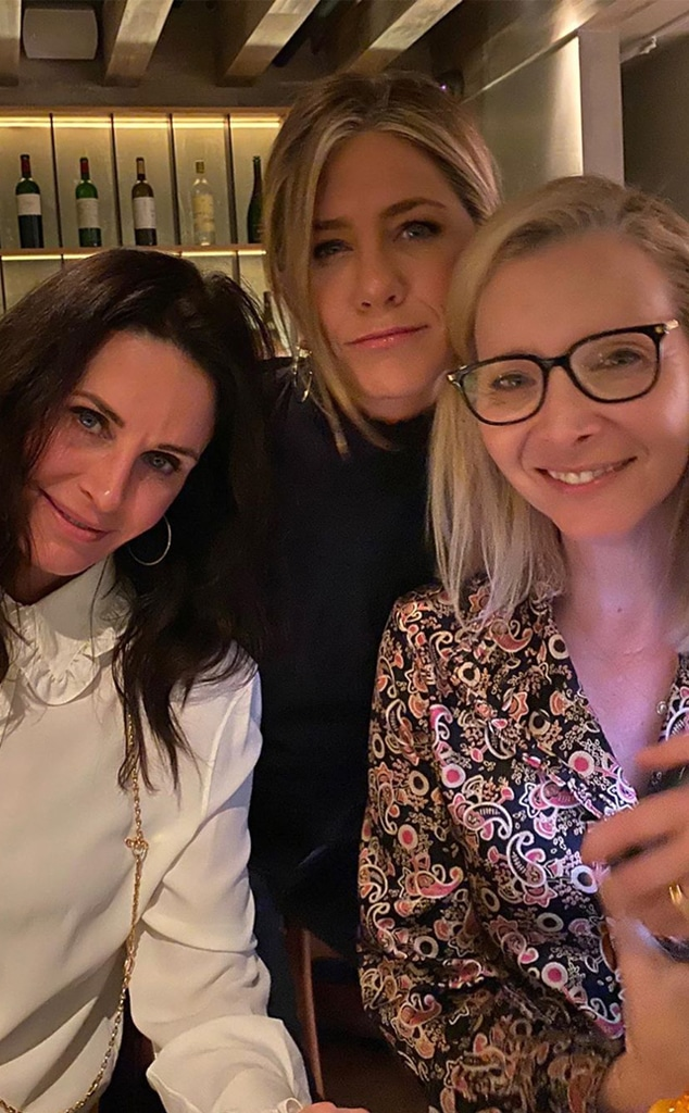 Jennifer Aniston, Courteney Cox, Lisa Kudrow