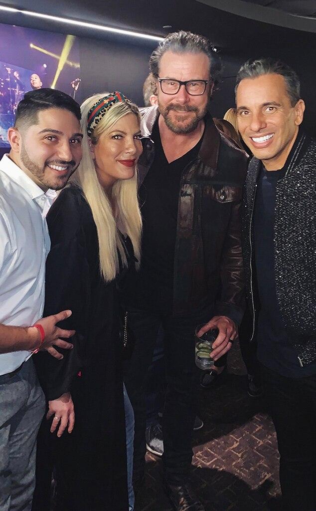Nicky Paris, Dean McDermott, Tori Spelling, Sebastian Maniscalco