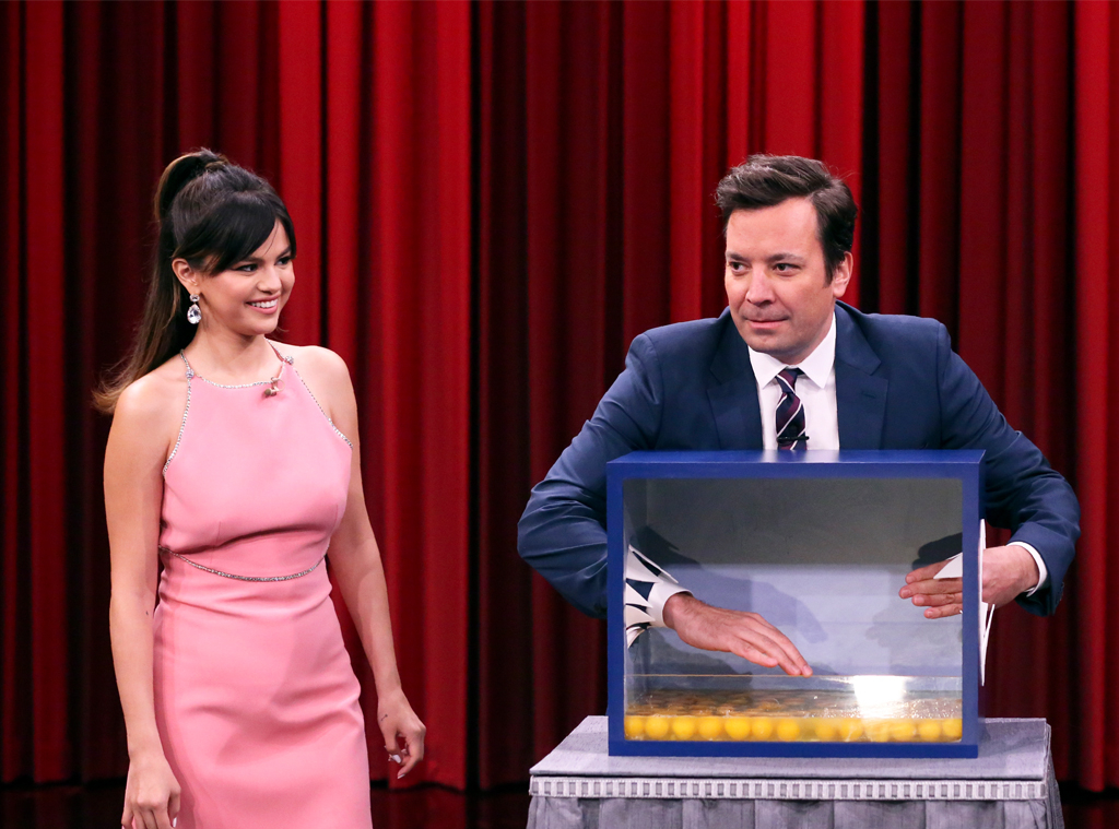 Selena Gomez, Jimmy Fallon, The Tonight Show