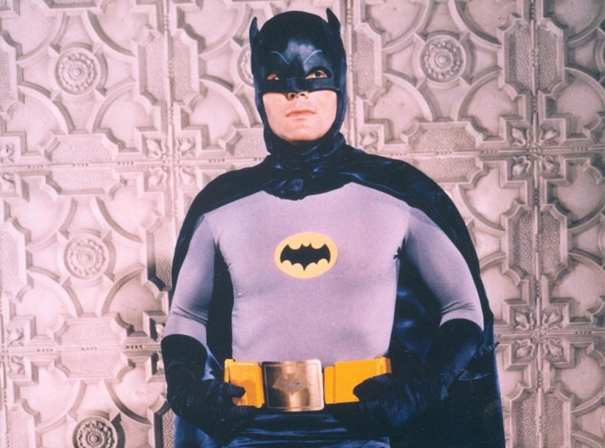 Crisis on Infinite Earths Pop Culture deaths, Adam West as Batman