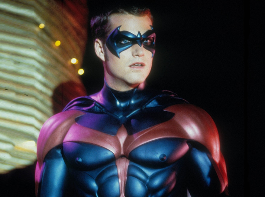 Crisis on Infinite Earths Pop Culture deaths, Chris O Donnell as Robin
