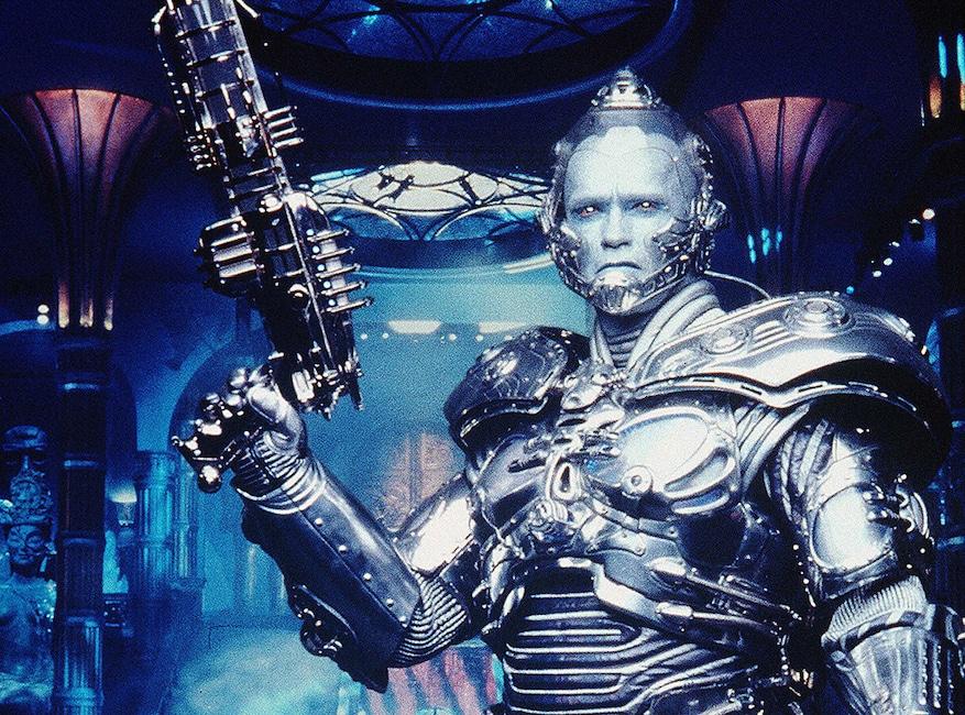 Crisis on Infinite Earths Pop Culture deaths, Arnold Schwarzenegger as Mr. Freeze