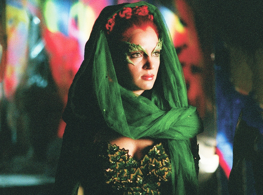 Crisis on Infinite Earths Pop Culture deaths, Uma Thurman as Poison Ivy