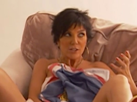 Remember When Kim Kardashian Made Kris Jenner Strip Naked for a Photoshoot?