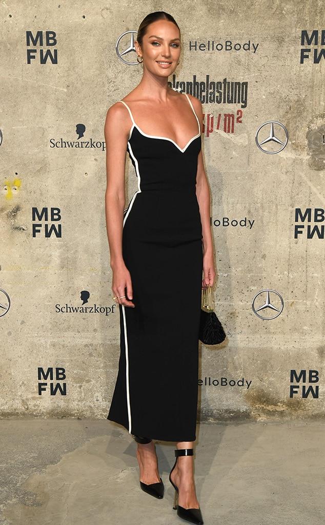Candice Swanepoel, Fashion Police Widget