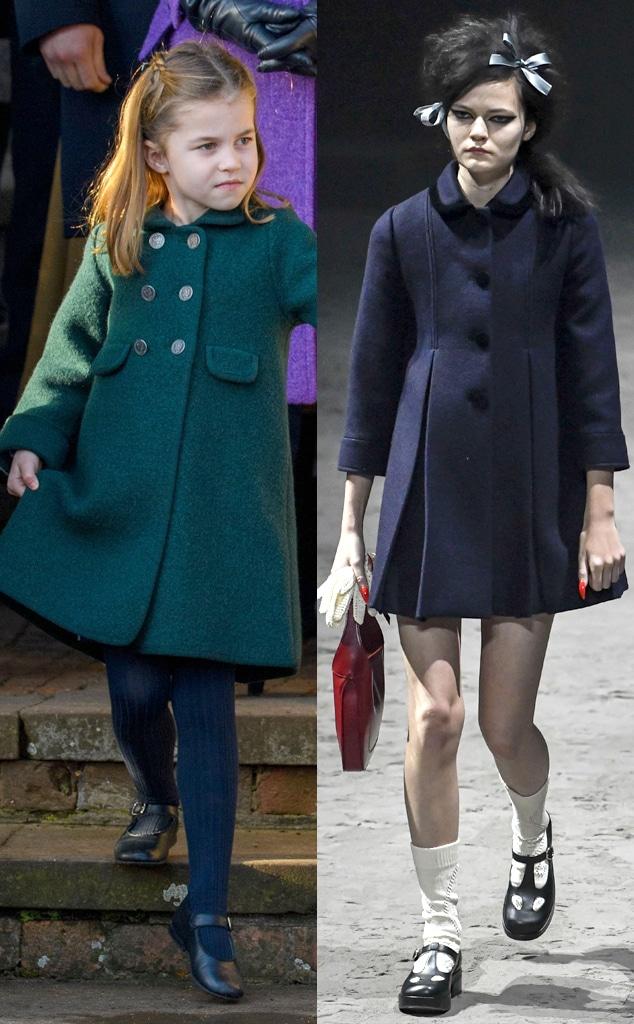 Princess Charlotte, Gucci Fall Winter Collection 2020