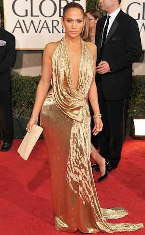 Best Looks - Jennifer Lopez, 2009 Golden Globes