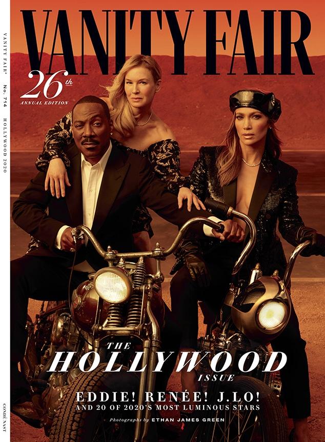 Renee Zellweger, Eddie Murphy, Jennifer Lopez, Vanity Fair Cover 2020