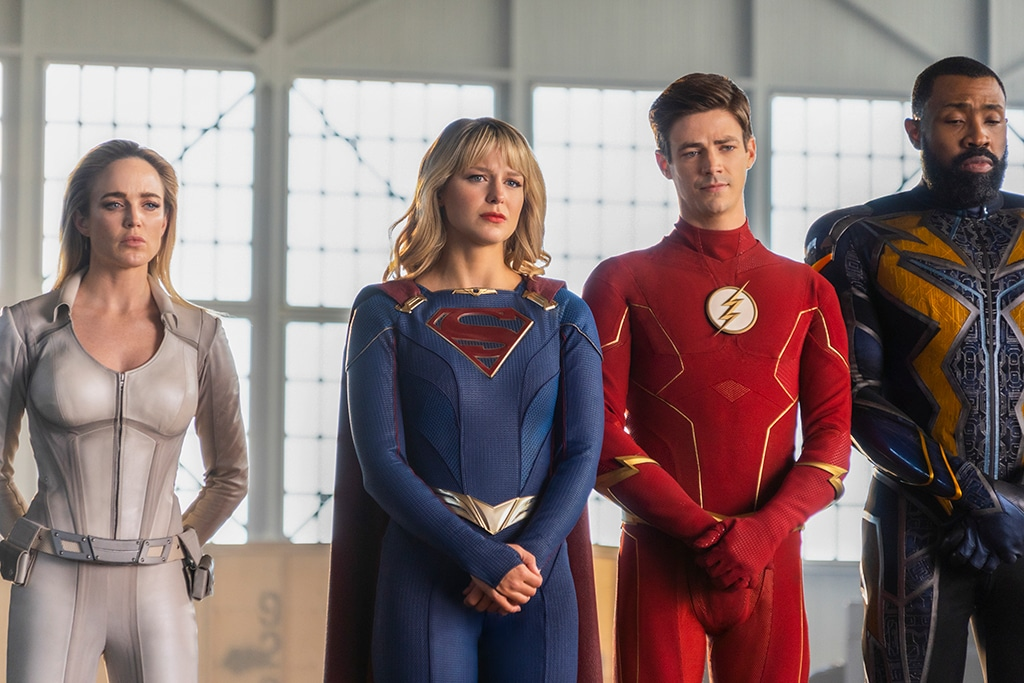 The Flash, Arrow, Supergirl, Crisis on Infinite Earths