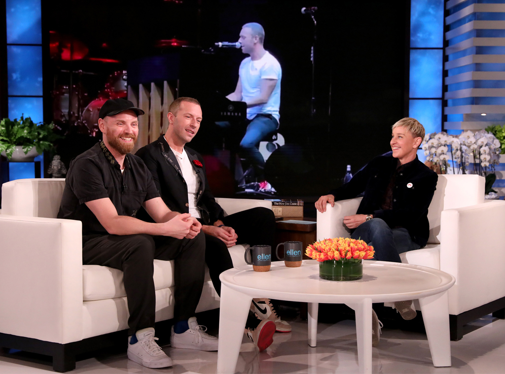 Chris Martin, Coldplay, Ellen Show