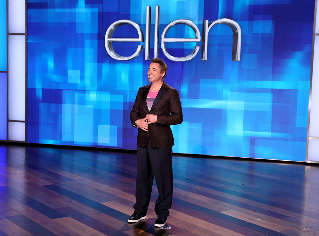 Robert Downey Jr., The Ellen DeGeneres Show
