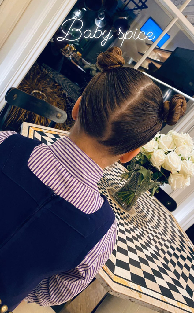 Harper Beckham, Victoria Beckham, Spice Girls, Instagram Stories