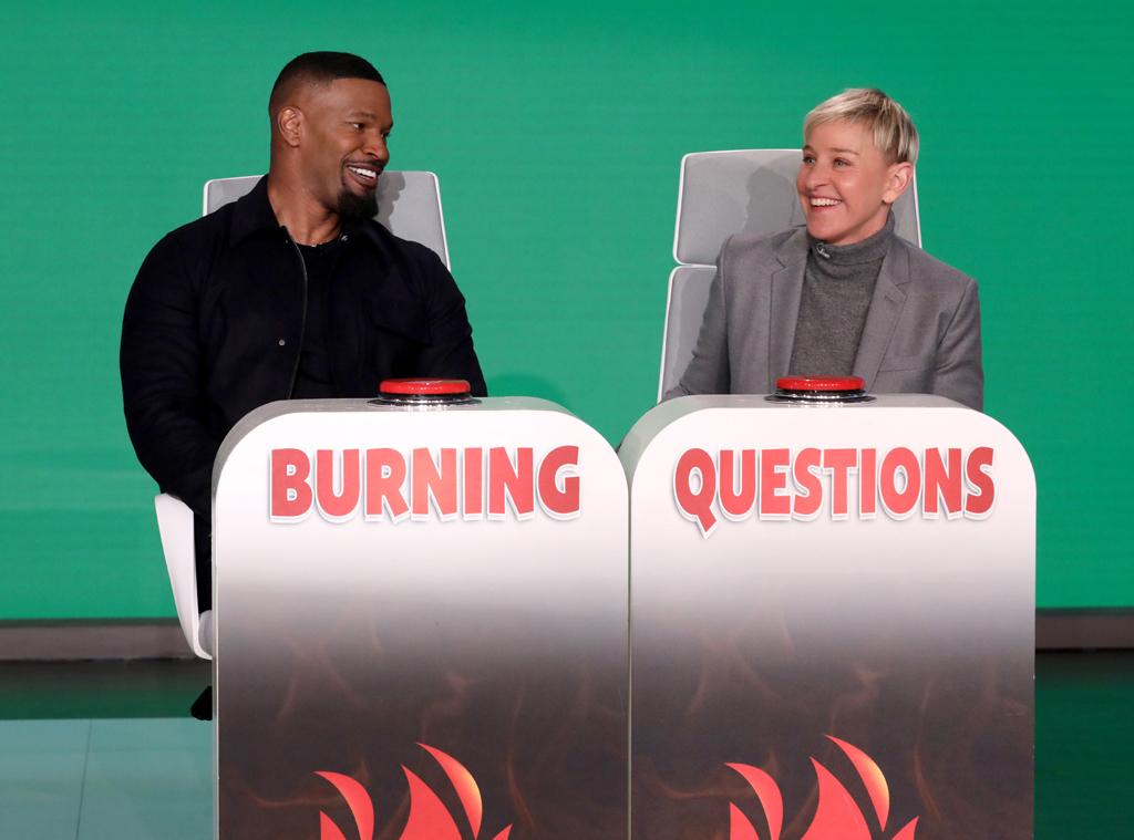 Jamie Foxx, Burning Questions, The Ellen DeGeneres Show 2020