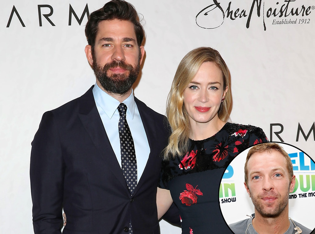John Krasinski responds to unknowingly snubbing Chris Martin