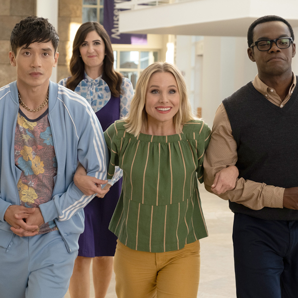 After So Many Jokes, The Good Place Delivered One Final—and Excellent—Friends Surprise