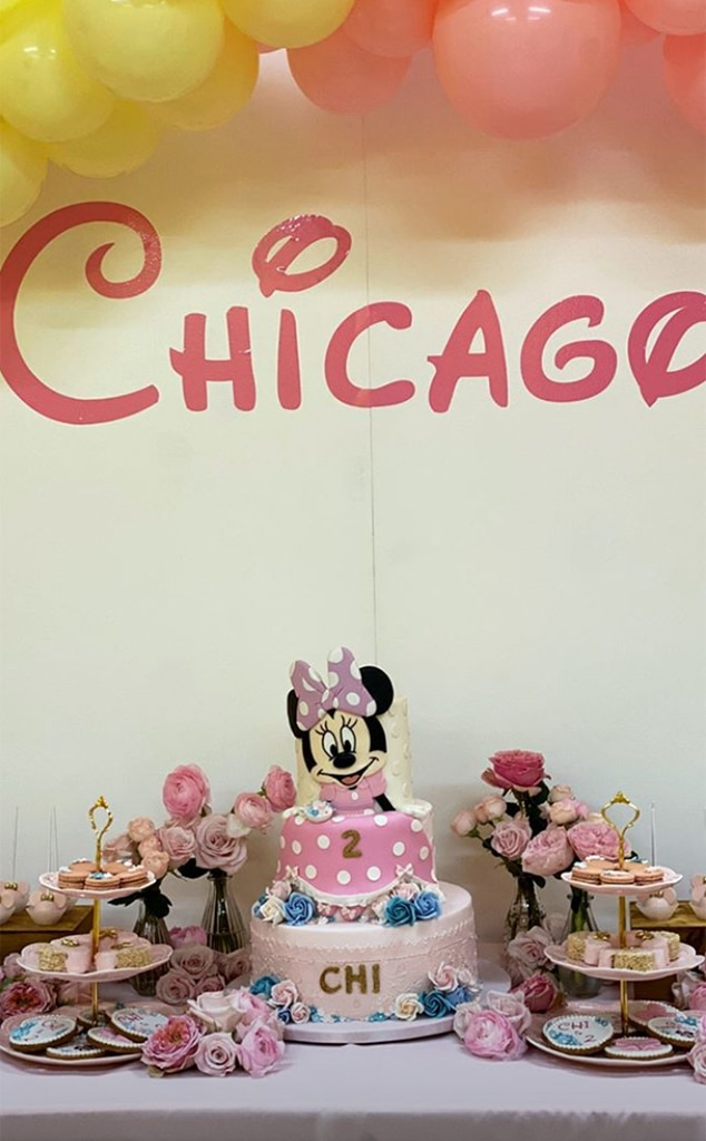 Fantastic Full Disney Treatment From Chicago Wests Minnie Mouse 2Nd Personalised Birthday Cards Veneteletsinfo