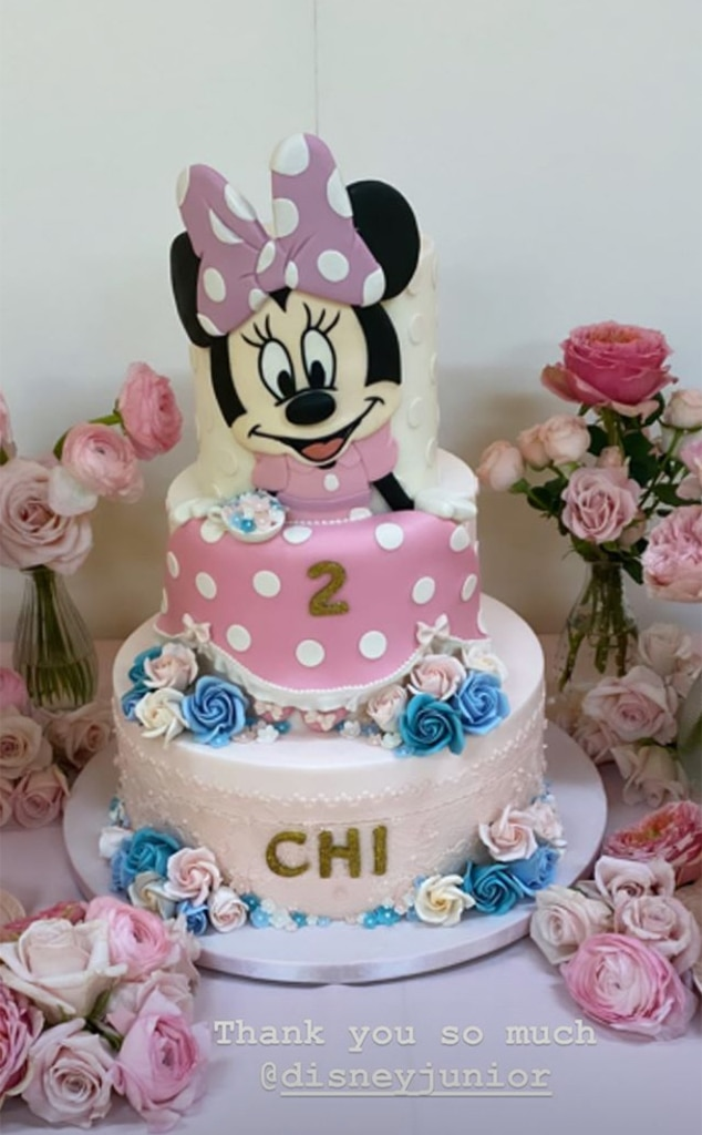 Marvelous Magical Cake From Chicago Wests Minnie Mouse 2Nd Birthday Party Funny Birthday Cards Online Elaedamsfinfo