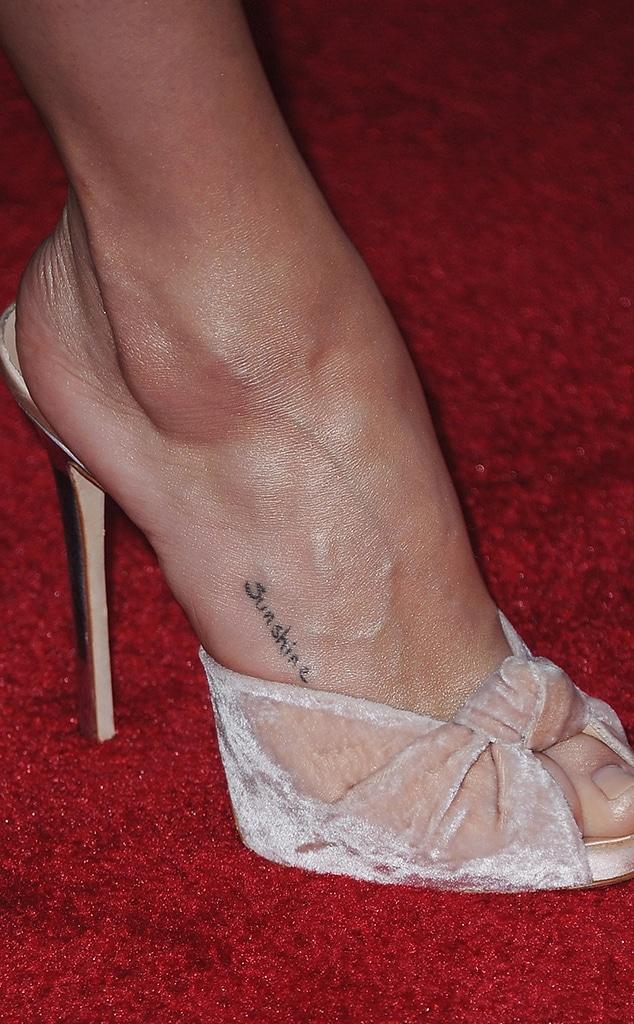 Selena Gomez Tattoos