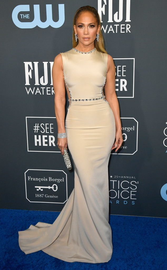 Jennifer Lopez, 2020 Critics Choice Awards