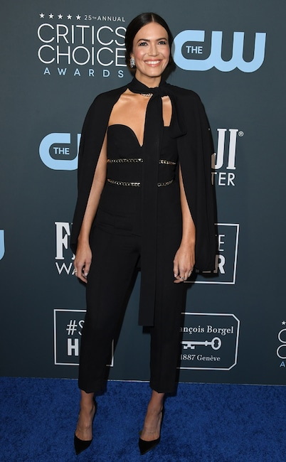 Mandy Moore, 2020 Critics Choice Awards
