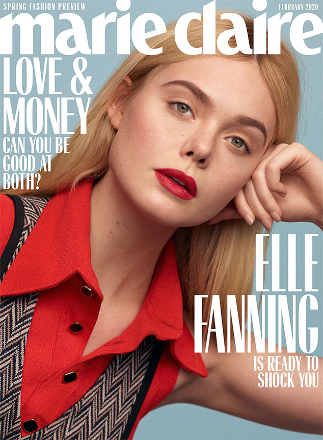 Elle Fanning, Marie Claire, February 2020