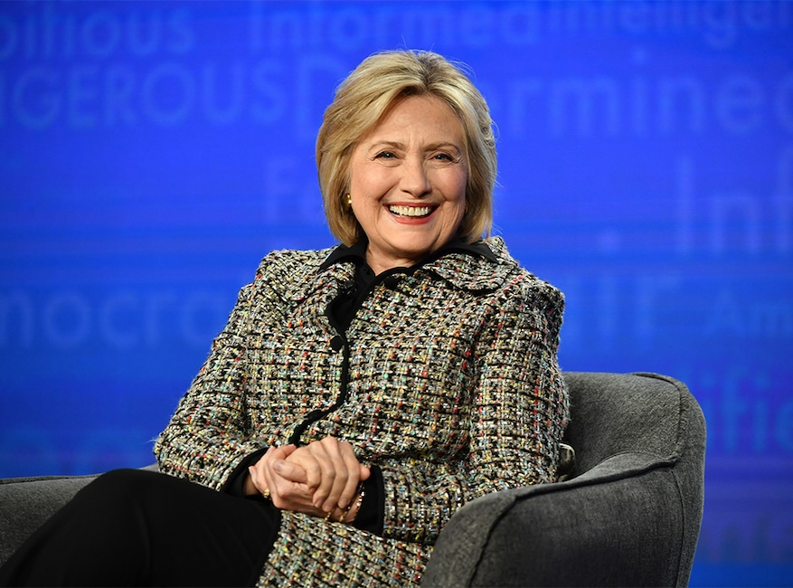 Hillary Clinton, 2020 Winter TCA Press Tour