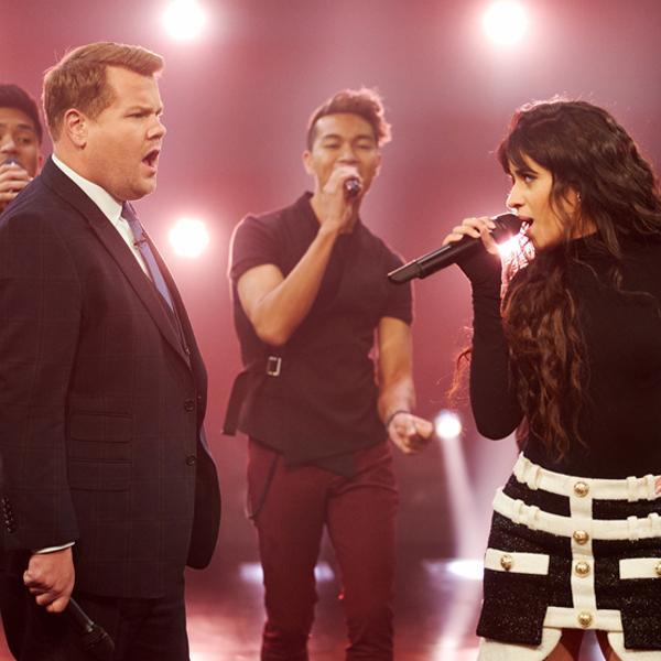 Camila Cabello and James Corden's 1999 vs. 2019 Music Mashup Will Be Stuck In Your Head All Day