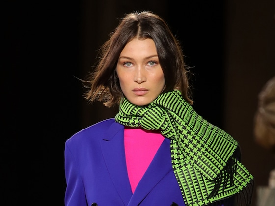 Bella Hadid's Bright and Bold Style Risks Pay Off at Paris Fashion Week
