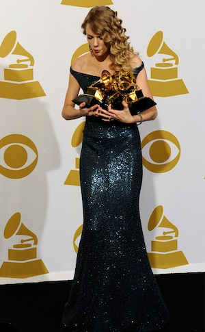 2010 Grammys, Taylor Swift