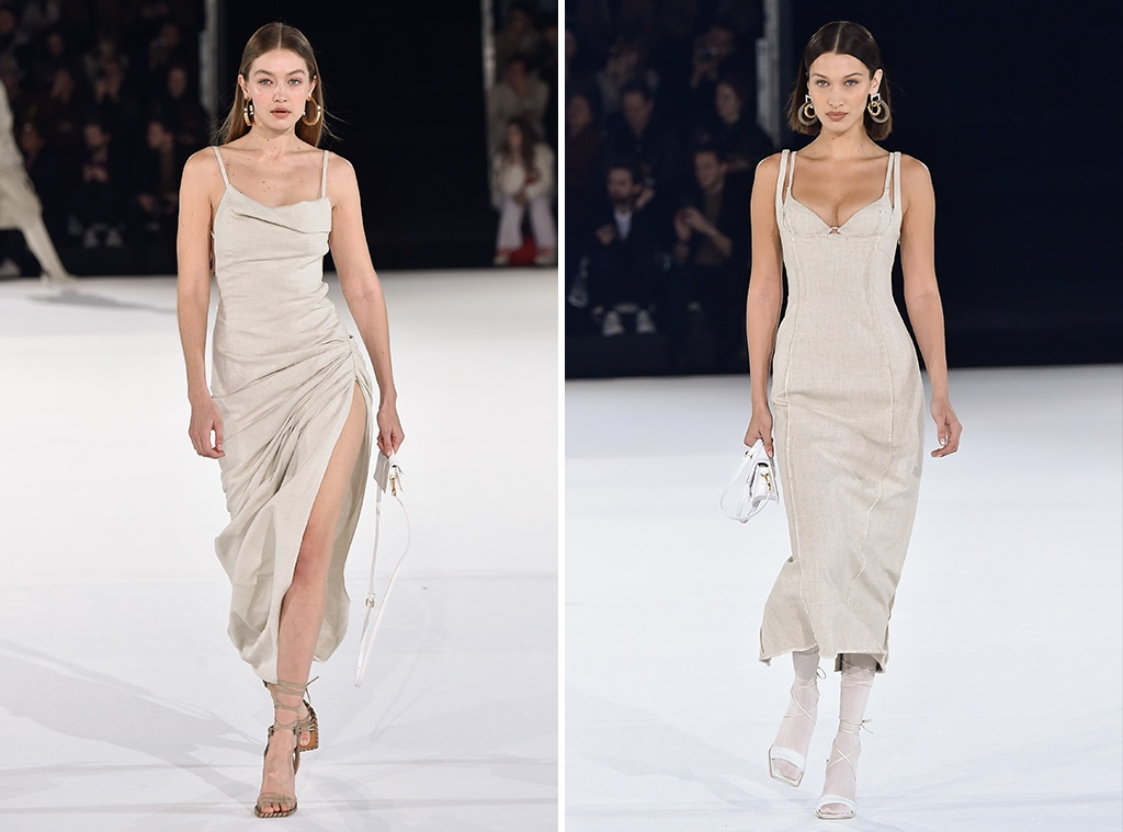 Gigi Hadid, Bella Hadid, Jacquemus, Paris Fashion Week 2020