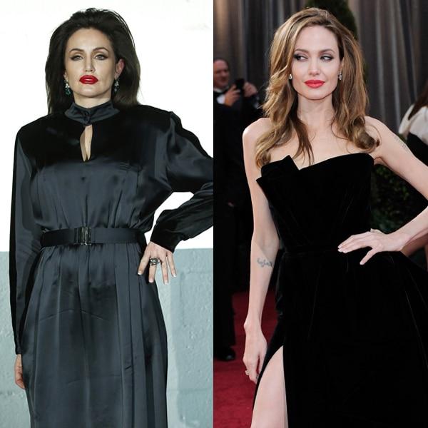 Vetements 2020 Fall Winter Celeb Look-A-Like Models, Angelina Jolie
