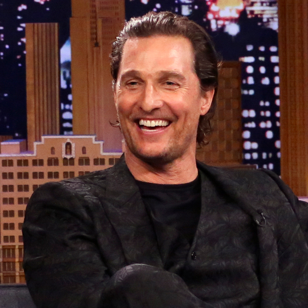 Watch Matthew McConaughey Deliver One of Hugh Grant's Famous Lines from Love Actually
