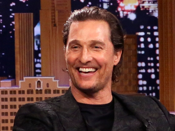 Watch Matthew McConaughey Deliver One of Hugh Grant's Famous Lines from <i>Love Actually</i>