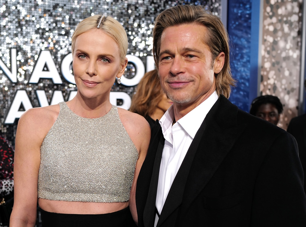 Brad Pitt, Charlize Theron, 2020 Screen Actors Guild Awards, SAG Awards