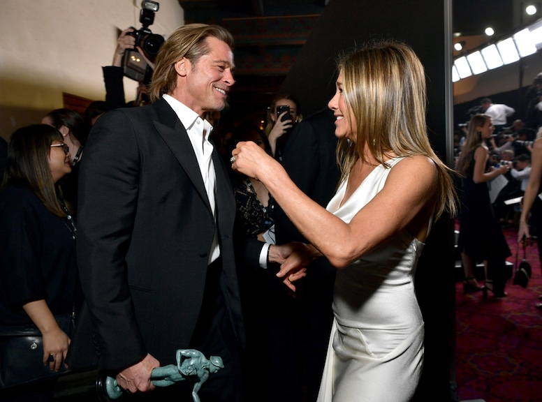 Jennifer Aniston, Brad Pitt, 2020 Screen Actors Guild Awards, SAG Awards, Candids, Pop Culture 2020