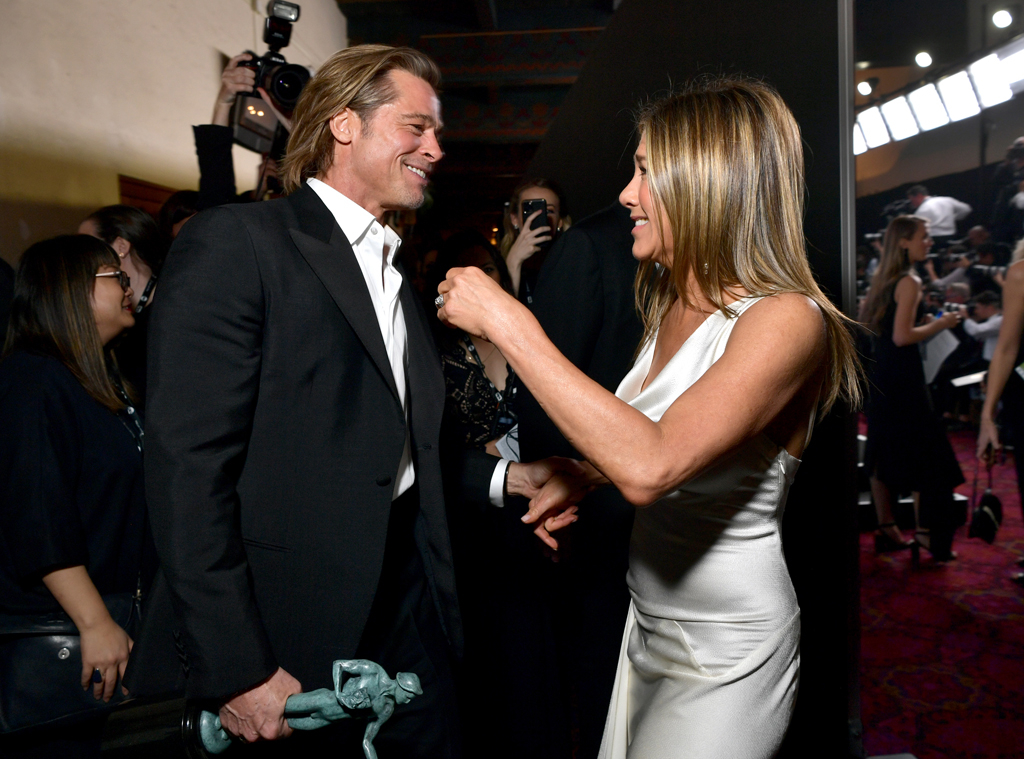 Jennifer Aniston, Brad Pitt, 2020 Screen Actors Guild Awards, SAG Awards, Candids
